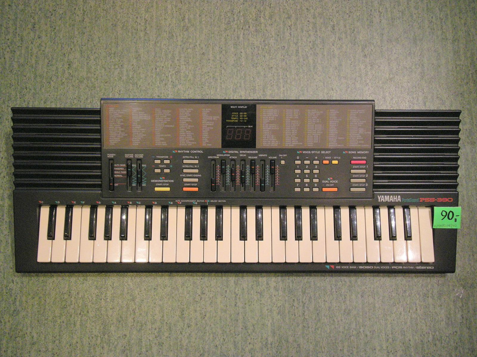 Yamaha Pss 390 Studio 36 Klawiszowe