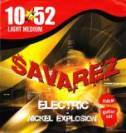 Struny do gitary el. SAVAREZ X50LM Light Medium